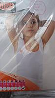 Майка для девочки с широкими лямками.