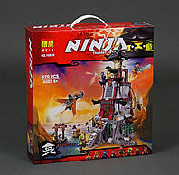 "Конструктор Bela Ninja 10528 (аналог Lego Ninjago 70594) ""Осада маяка"" 820 дет"