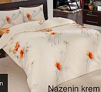 Полуторный постельный комплект Altinbasak Nazenin крем