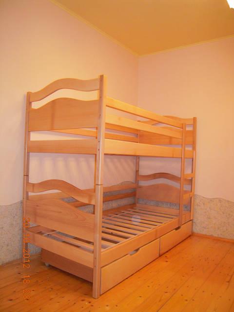 Ліжко двоярусне Вінні Пух 1