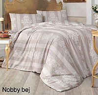 Полуторный постельный комплект Altinbasak Nobby bej