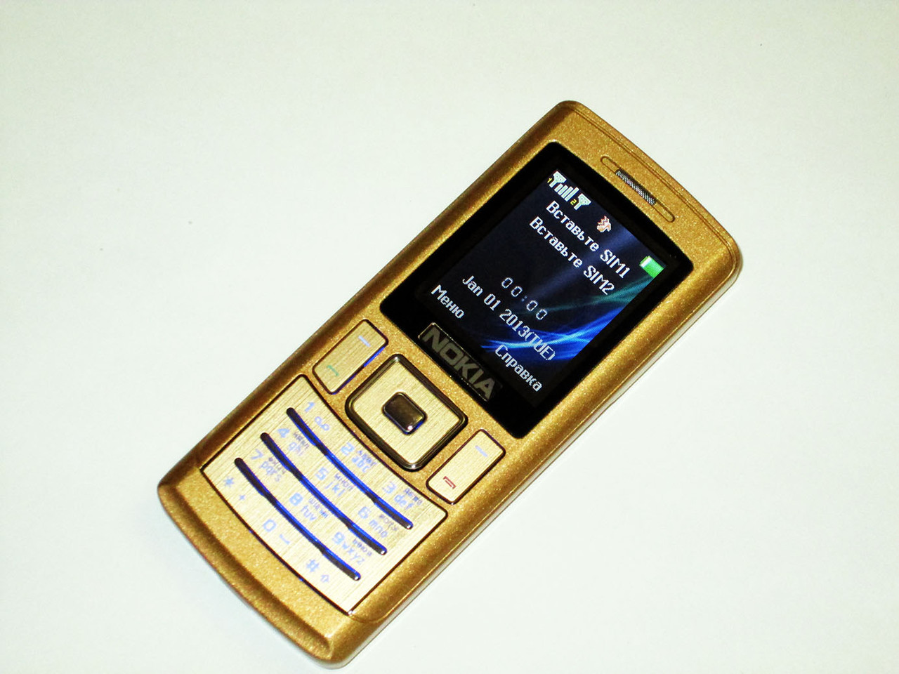 """Телефон Nokia K1 - 2sim - 1,8"""" - FM - Bt - Cam - металлический корпус"""