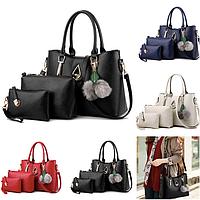 Женская сумка большая с ручками Beauty + набор 3 в 1