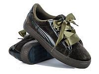 Женская спортивная модная обувь.Кеды женские оптом от фирмы Violeta 9-500 Army- green (8 пар, 36-41)