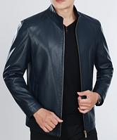 Мужская кожаная куртка. Модель 61141