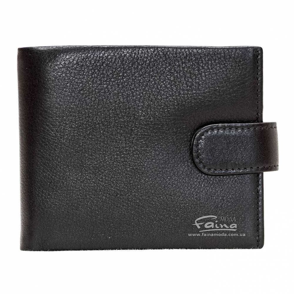 Мужское портмоне кожаное черное  Eminsa 1065-12-1