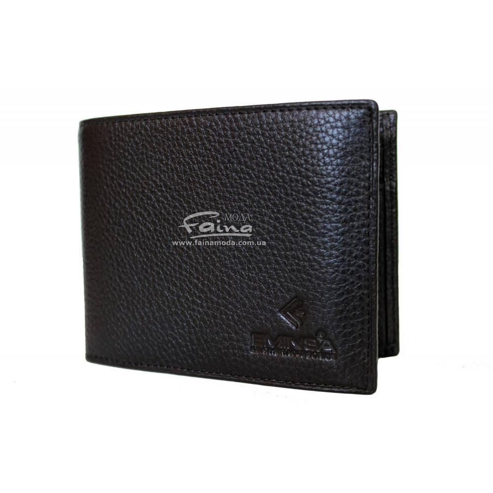 4bdb251b7748 Мужское портмоне кожаное черное Eminsa 1014-17-1 - FainaModa магазин кожаных  изделий в