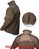 Куртка флисовая Mil-Tec Hextac black, фото 2