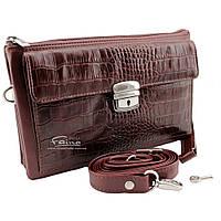 Мужской клатч кожаный коричневый Eminsa 5077-4-2