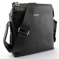 Мужская сумка кожаная чёрная  Eminsa 6142-17-1