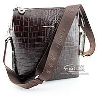 Мужская сумка кожаная коричневая  Eminsa 6142-4-3
