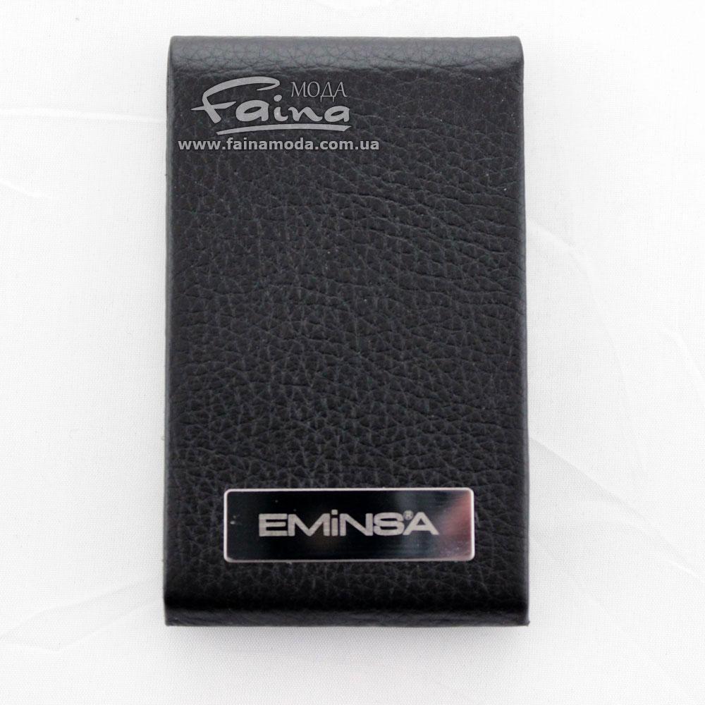 Визитница кожаная черная Eminsa 1578-12-1
