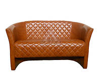 """Двухместный диван """"Лиззи"""" от мебельной фабрики, диван кожзам, диван купить, диван кожвинил, диван Харьков"""