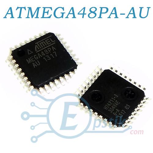 ATMEGA48PA-AU, Микроконтроллер TQFP32