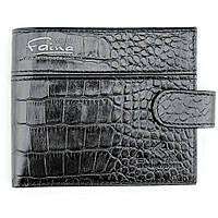 Мужское  портмоне кожаное чёрное Eminsa 1027-4-1