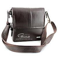 Мужская сумка кожаная коричневая  Karya 0520-39