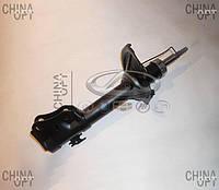 Амортизатор передний, левый / правый, шток D=14mm, газомасляный, Geely MK1 [1.6, до 2010г.], 1014001708, OPTIMAL