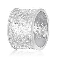 "Серебряное родированное кольцо ""071"""