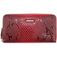 Женский кошелек кожаный красный  Butun 639-008-006