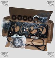 Прокладки двигателя + сальники (до 2010г., 1.6, комплект прокладок) Geely MK1 [1.6, -2010г.] 1086000000 Китай [аftermarket]