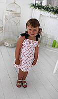 "Летний детский сарафан ""Колибри"" от 2 до 3 лет"