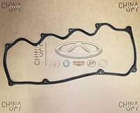 Прокладка клапанной крышки (480E*, 1.6, вкладываемая) Chery Amulet [1.6,-2010г.] 480-1003060BB Китай [аftermarket]