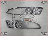 Решетка противотуманки правая, Chery M11, M11-2803518, Original parts