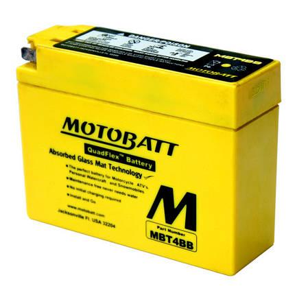 Аккумулятор залитый и заряженный AGM 2,5Ah 40A MB MBT4BB, фото 2