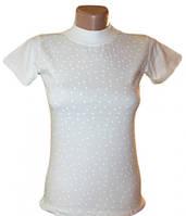 Американка школьная для девочки, белая, 140-158 см