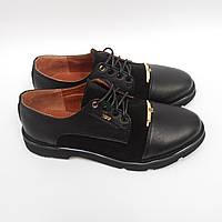 Туфли YDG_BELLINI 7133.1 (39, 40) женские кожаные черные