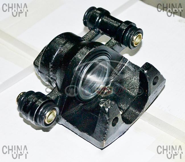 Суппорт тормозной передний правый, с ABS, Geely CK1 [до 2009г.], 1402137180, Aftermarket