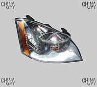 Фара передняя правая (механика) Chery Elara [2.0] A21-3772020 Китай [лицензия]