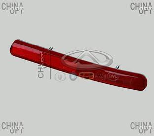 Катафот / светоотражатель заднего бампера, левый, седан, Geely MK1 [1.6, до 2010г.], 1017001562, Aftermarket