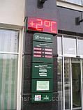 Вуличні годинник з великим кутом огляду 710х315 мм, фото 5