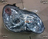 Фара передняя правая (СК2, механика) Geely CK2 1017001027 Китай [аftermarket]