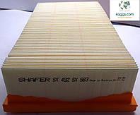 SHÄFER sx492 воздушный фильтр для VOLVO: 440 (88-96), 460 (88-), 480 (88-96).