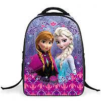 Школьные рюкзаки для девочки с принтом Рапунцель Модель №2