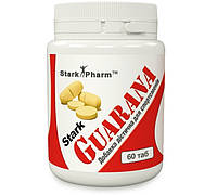 Гуарана Stark Pharm - Guarana 300 мг (60 таблеток) (150 мг медленного кофеина)