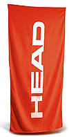 Полотенце Head Sport хлопок красное