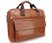 Кожаная сумка для ноутбука и документов «Дипломатичная XI»