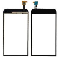 Сенсор (тачскрин) для HTC 616 Desire Dual Sim черный Оригинал