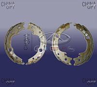 Колодки ручника, ручного тормоза (до 2010г., комплект) Chery Elara [2.0] A21-3502210 Китай [аftermarket]