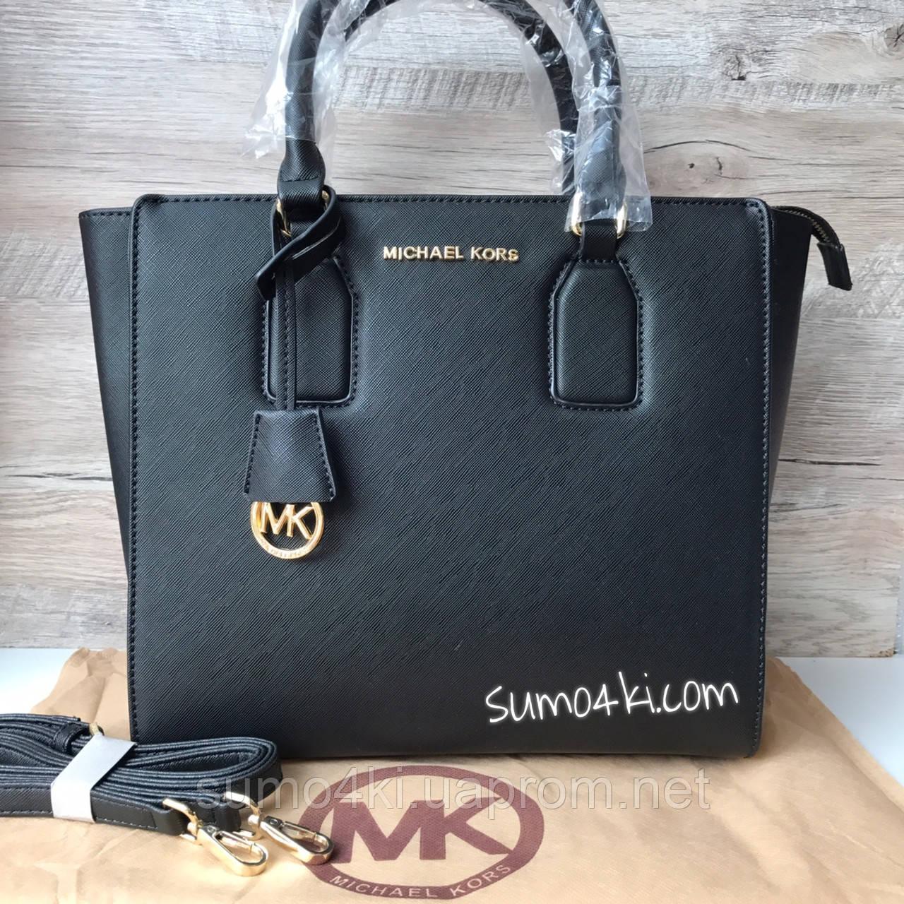 Купить Женскую сумку Michael Kors Майкла Корс чёрную оптом и в ... 362a54bf179