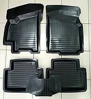 Коврики автомобильные для Daewoo Lanos-Sens 1998- г. резиновые с бортами Украина.