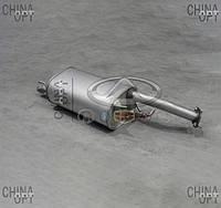 Глушитель (до 2010г., задняя часть) Chery Elara [2.0] A21-1201210 Китай [аftermarket]