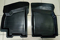 Коврики передние для Daewoo Lanos-Sens 1998- г. резиновые с бортами Украина.