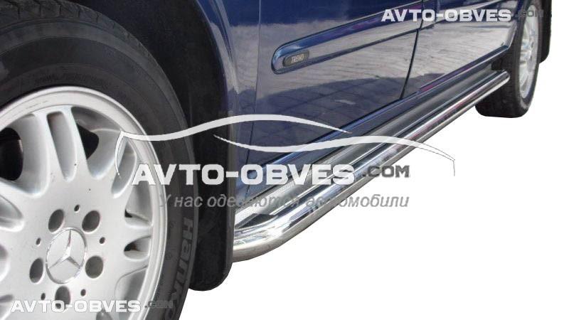 Подножки для Mercedes Viano, кор (L1) / сред (L2) / длин (L3) базы, Ø 42 \ 51 \ 60 мм