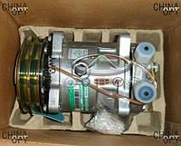 Компрессор кондиционера, под два ремня, 491Q, Great Wall Safe [F1], Original