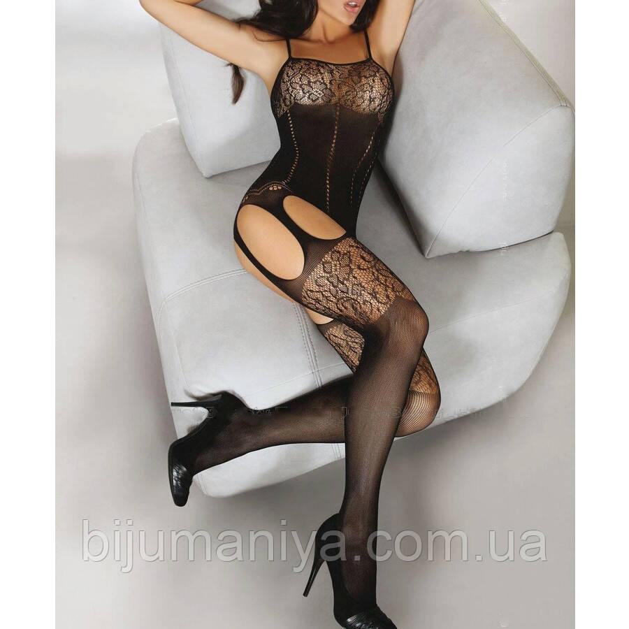Жіноче, сексуальну нижню білизну еротичне, сітка, комбінезон 11137с