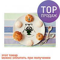 Тарелка Енот обжора / Декорации для дома